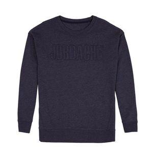 JORDACHE Blue Logo Sweatshirt